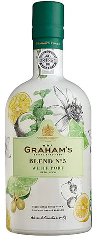 Graham's Blend No. 5 White Port - VINI VINO