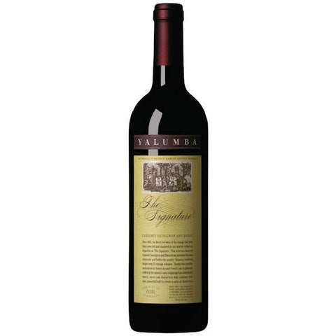 Yalumba The Signature Cabernet Sauvignon & Shiraz 2012 - VINI VINO