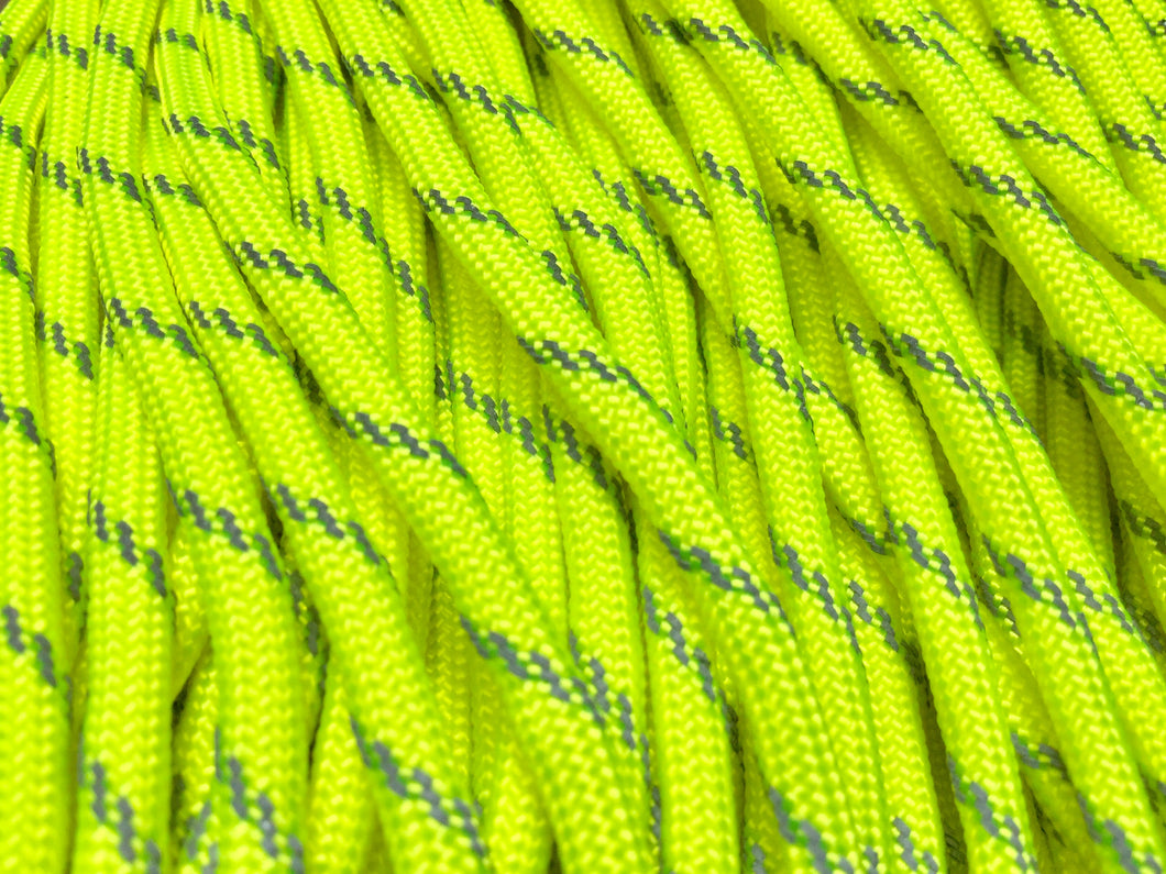 NEON YELLOW REFLECTIVE 550 PARACORD