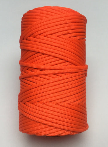 NEON ORANGE AMERICAN 550 PARACORD 300 FEET ROLL