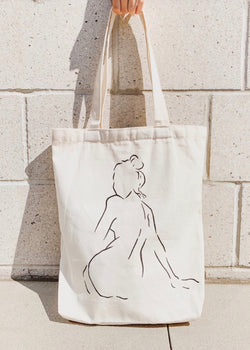 BECOMING CANVAS TOTE