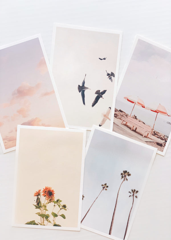 California Dreams Print Set
