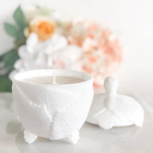 Unique Candles, Vintage, Milk Glass, Gift For Women