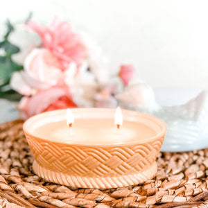 Vintage Hen On A Nest Milk Glass Soy Candle - RetroWix