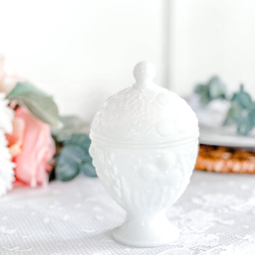 Candles Handmade, Milk Glass, Candy Dish, Unique Gifts For Women
