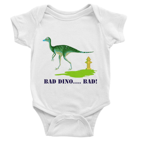 BAD DINO! Baby Bodysuit