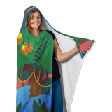 Jungle Hooded Blanket
