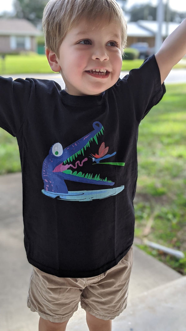 Croc-Teeth Kids Tee