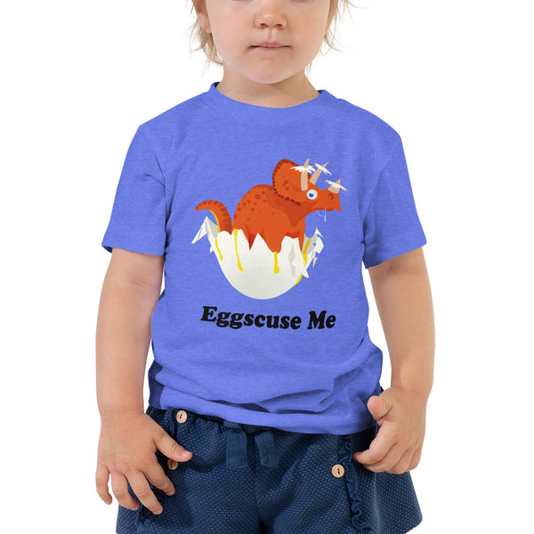 Egg-Scuse Toddler Tee