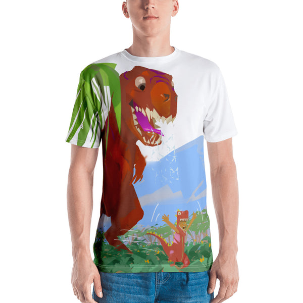 Dinostorus T-Rex Copy-Cat! Mens T-Shirt