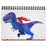 T rex Rider Notebook