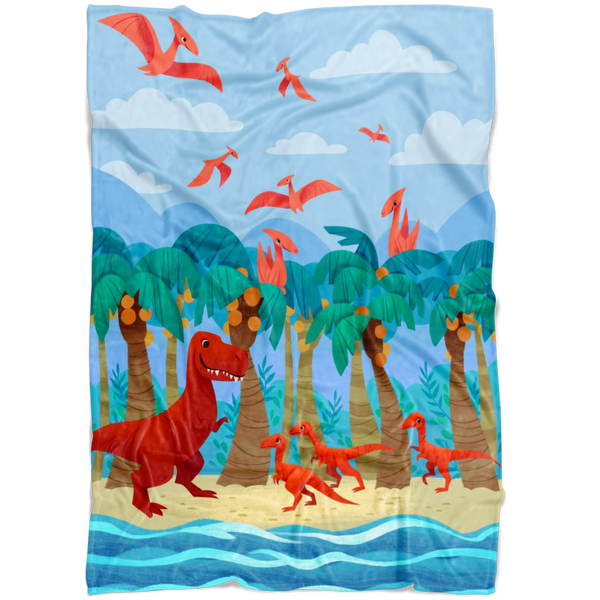 Beach Gathering Throw Blanket