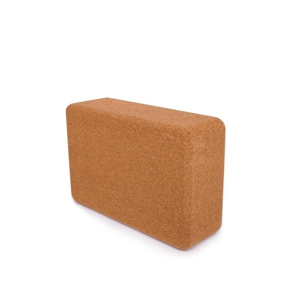 Eco-friendly Cork Yoga Block - Luna & Soul