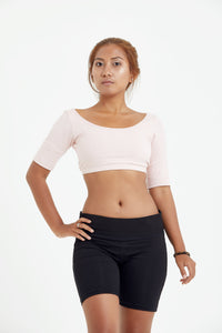 Cropped Yoga Top - Luna & Soul