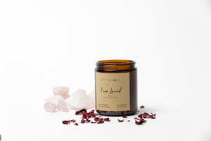 Natural Soy Wax Sage Candle - Luna & Soul Sustainable Yoga Wear