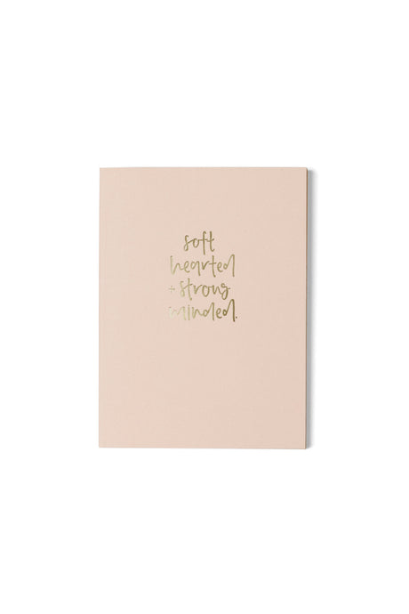 Soft Hearted + Strong Minded Journal - Luna & Soul Sustainable Yoga Wear