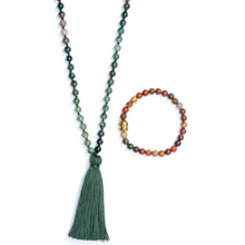 Mala Necklace + Bracelet - Luna & Soul Sustainable Yoga Wear