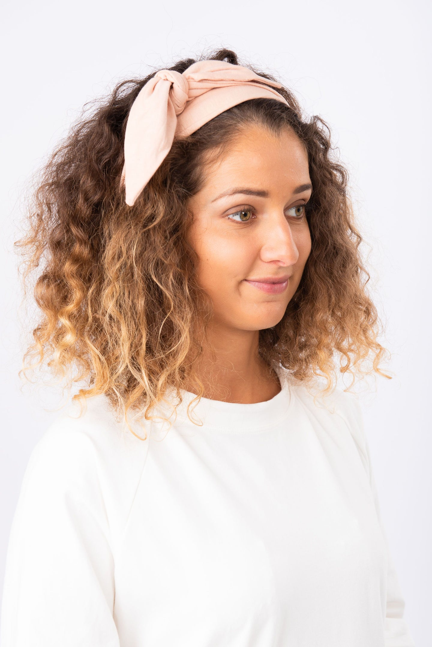 Organic Cotton Hair Tie  Headband - Luna & Soul Eco-friendly Yoga & Activewear