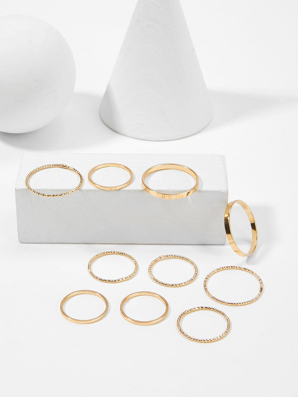 Slim Ring Set 10pcs