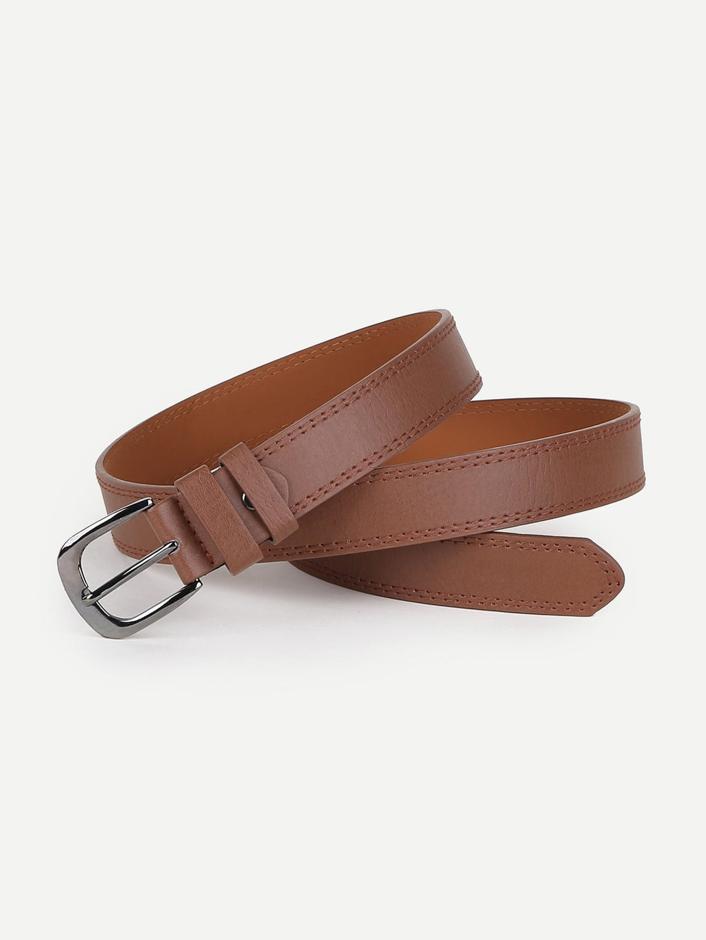 Men Metal Buckle Belt