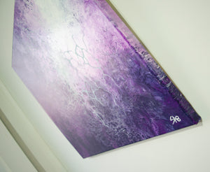 Nebulas (Abstract Fluid Acrylic) Canvas Print - SAB Art Studio