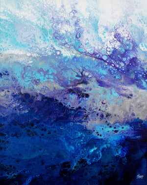 Abstract Art, Fluid Acrylic, Canvas Art, Wall Art, Home Decor