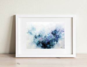 Kalinda (Original Abstract Watercolor) - SAB Art Studio