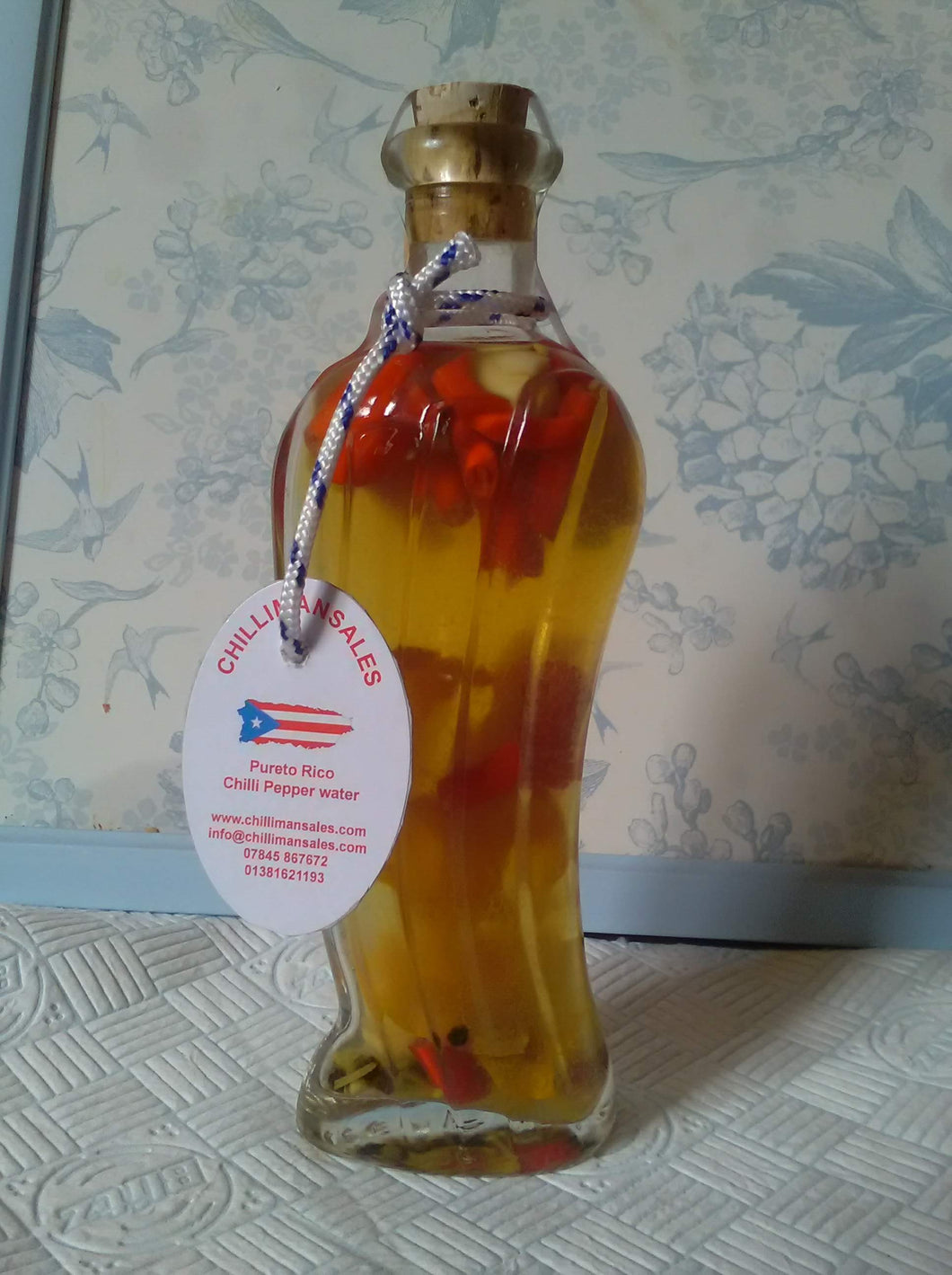 Purteo Rican Chilli Pepper Water