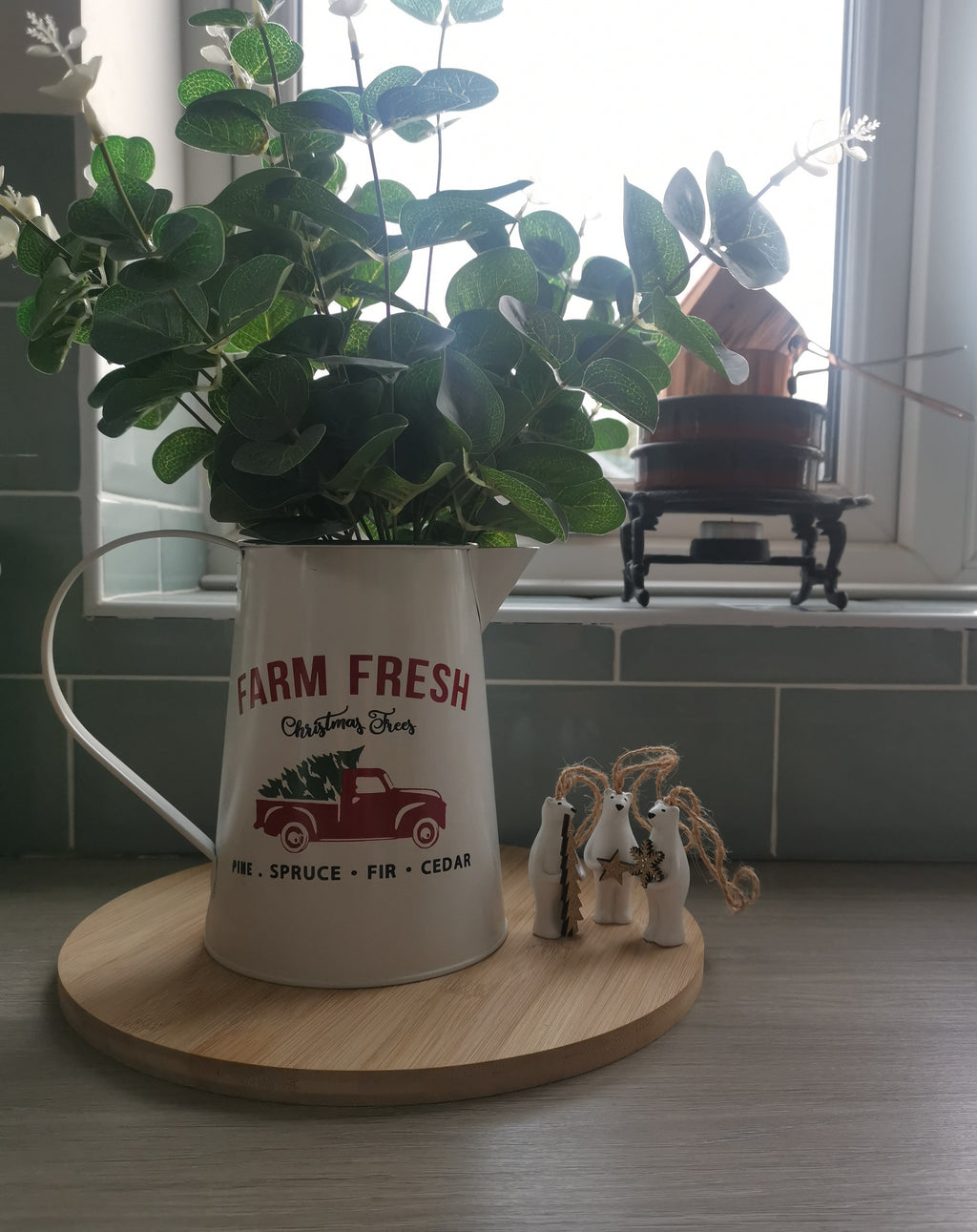 White Tin Farm Fresh Jug - TBI