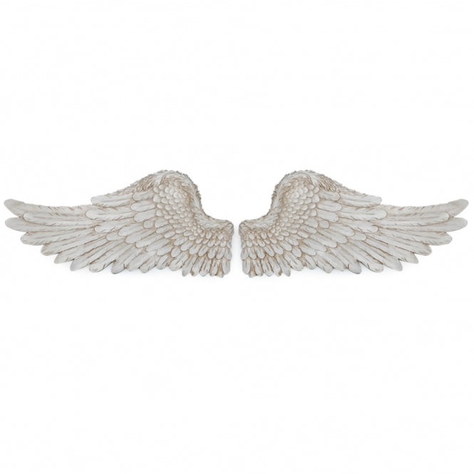 Set of 2 Antique Angel Wings - TBI