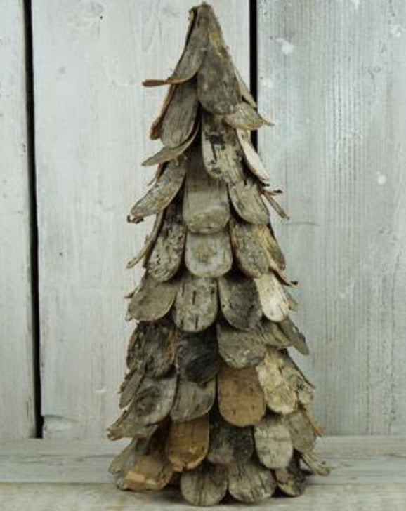 Birch Bark Rustic Christmas Tree