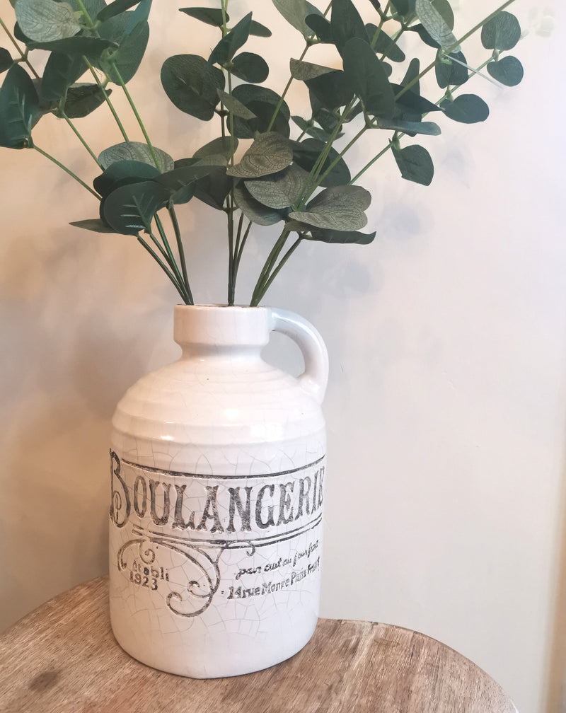 Boulengerie Distressed Vase - The Burrow Interiors