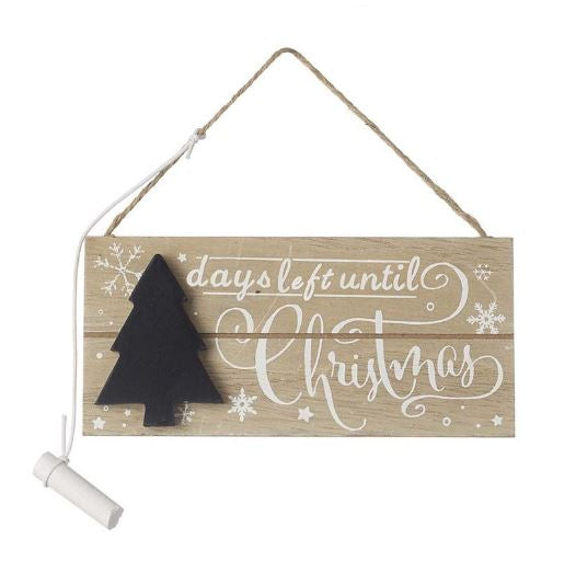 Countdown To Christmas Chalkboard - TBI