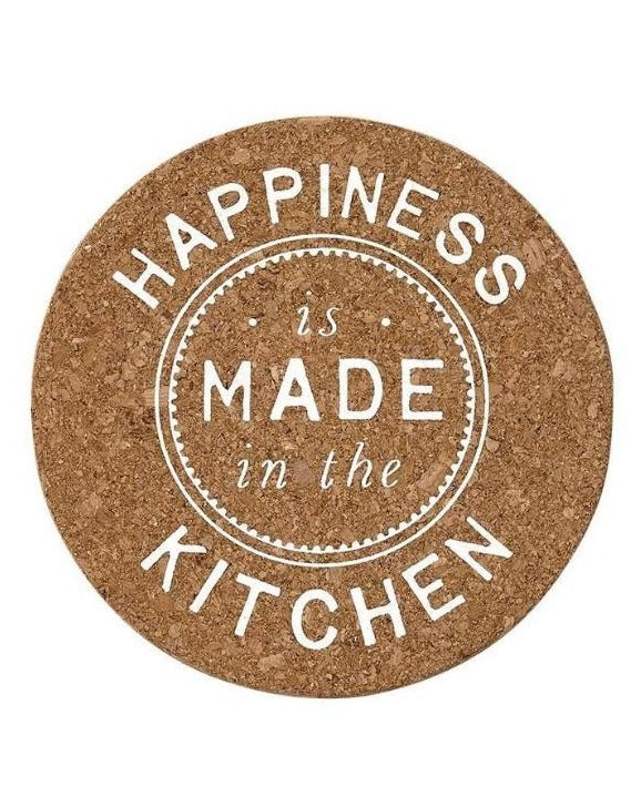 Happiness is made in the kitchen trivet | TBI