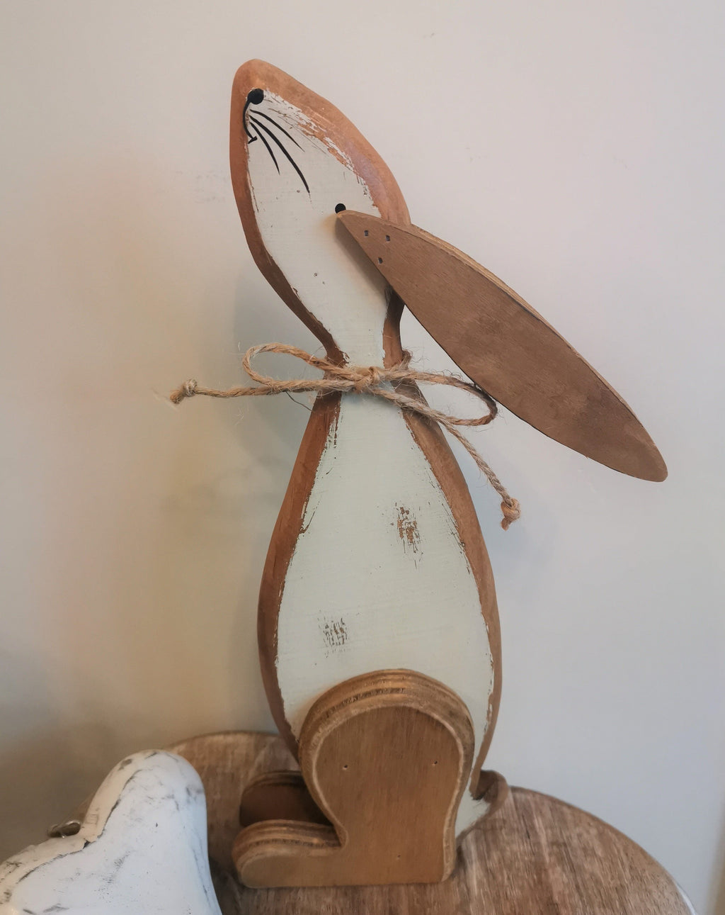 Wooden Rabbit Decor - The Burrow Interiors