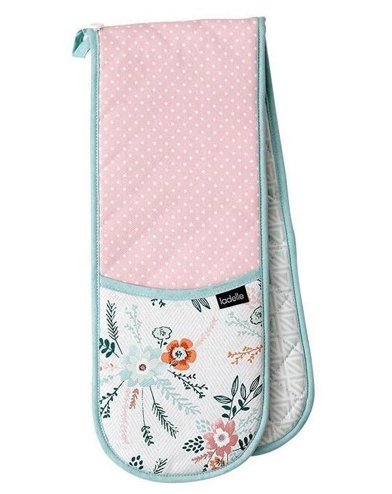 Floral Elsie Double Oven Mitt | TBI