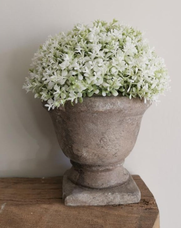 Faux Potted Dianthus - TBI