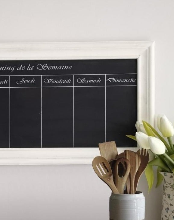 French Farmhouse Weekly Chalkboard Planner | TBI