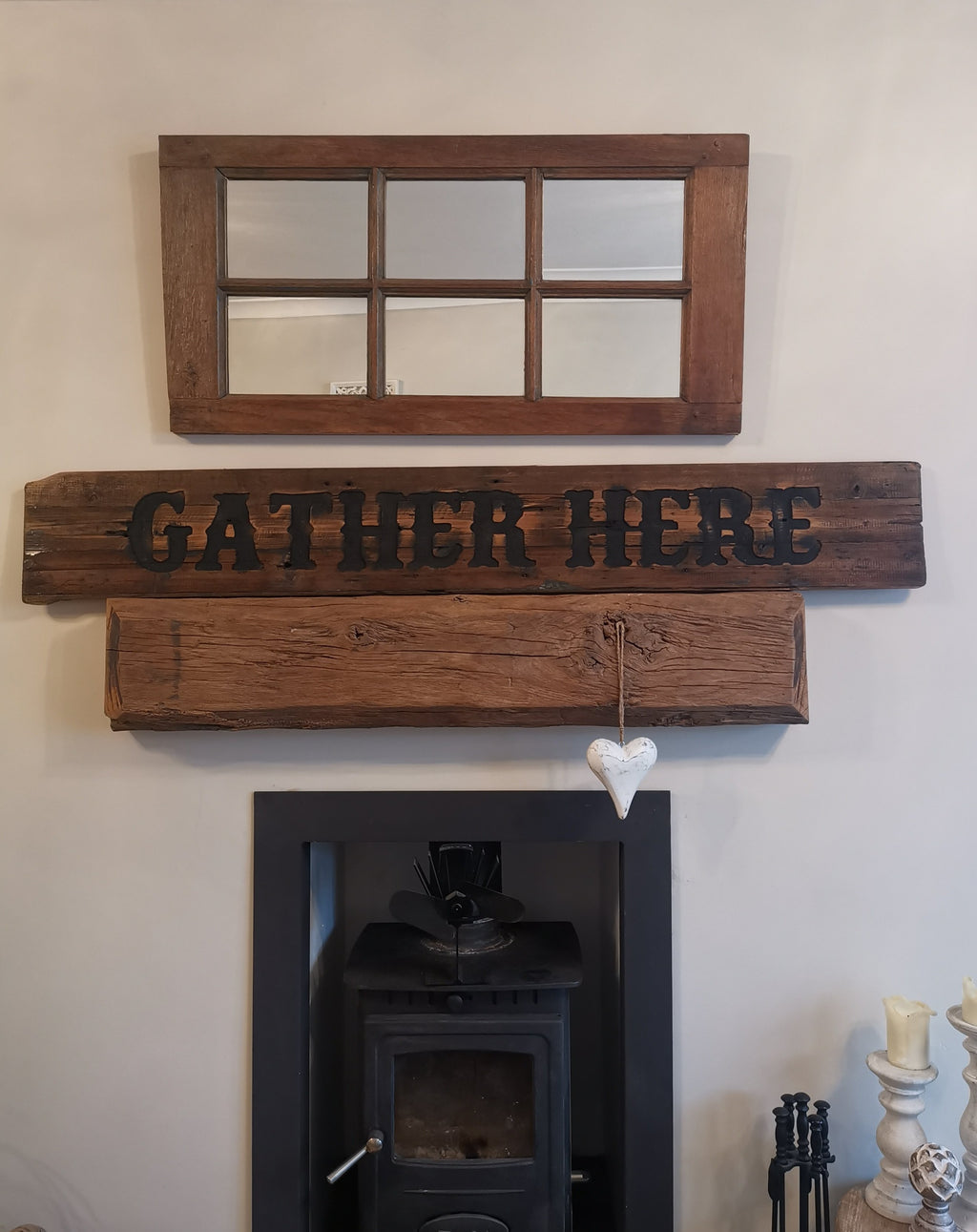 Gather Here Sign - The Burrow Interiors