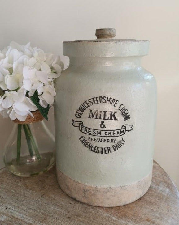 Gloucestershire Cream Milk Jar - TBI