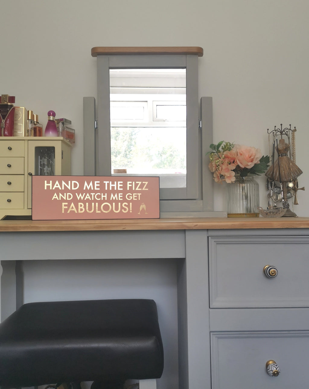 Hand Me The Fizz - The Burrow Interiors