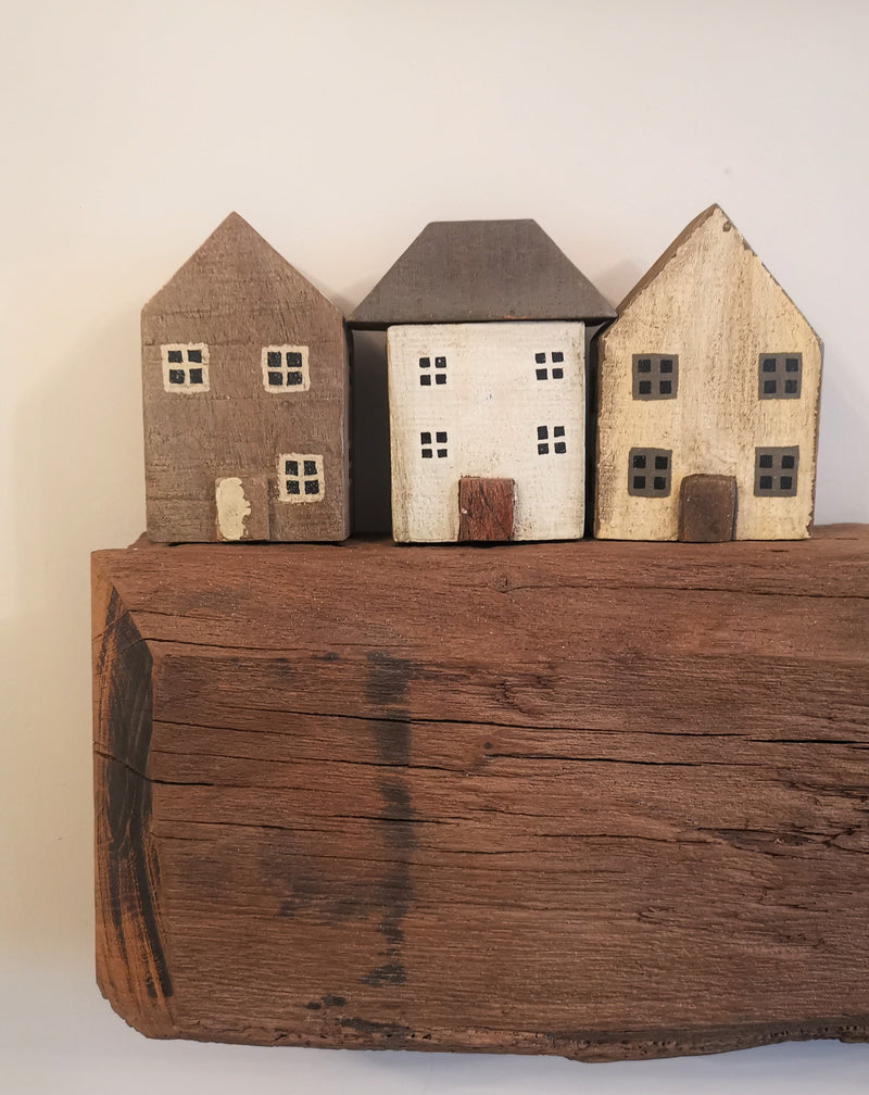 Set of 3 Perriss Houses - The Burrow Interiors