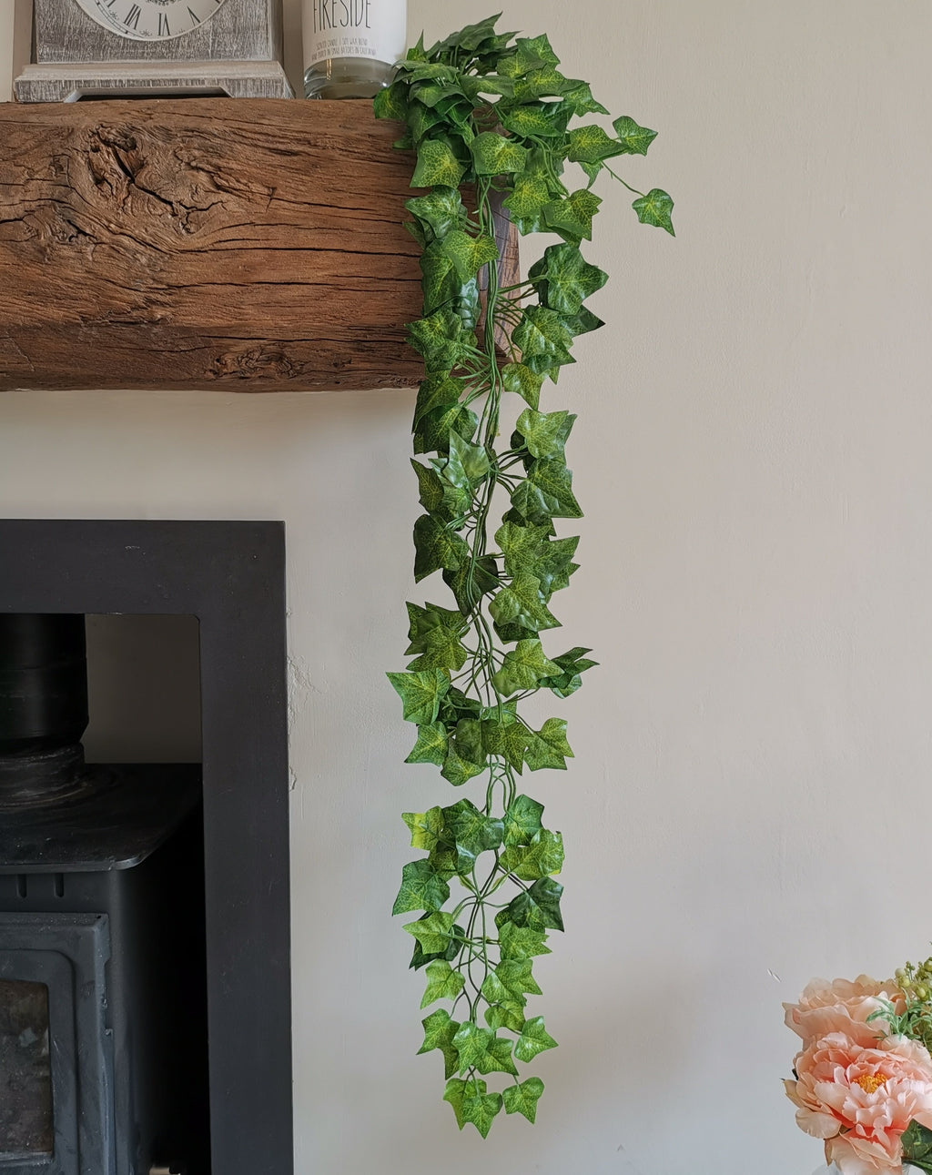 Faux Trailing Green Ivy - TBI