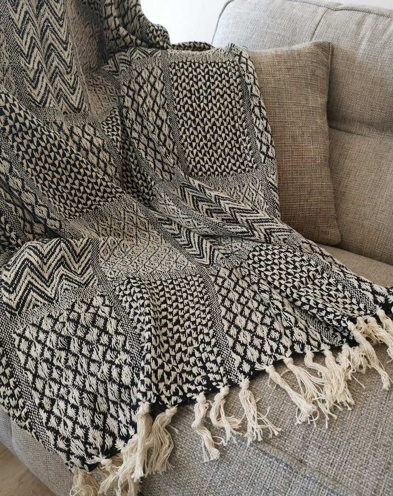 Khalessi Black Throw