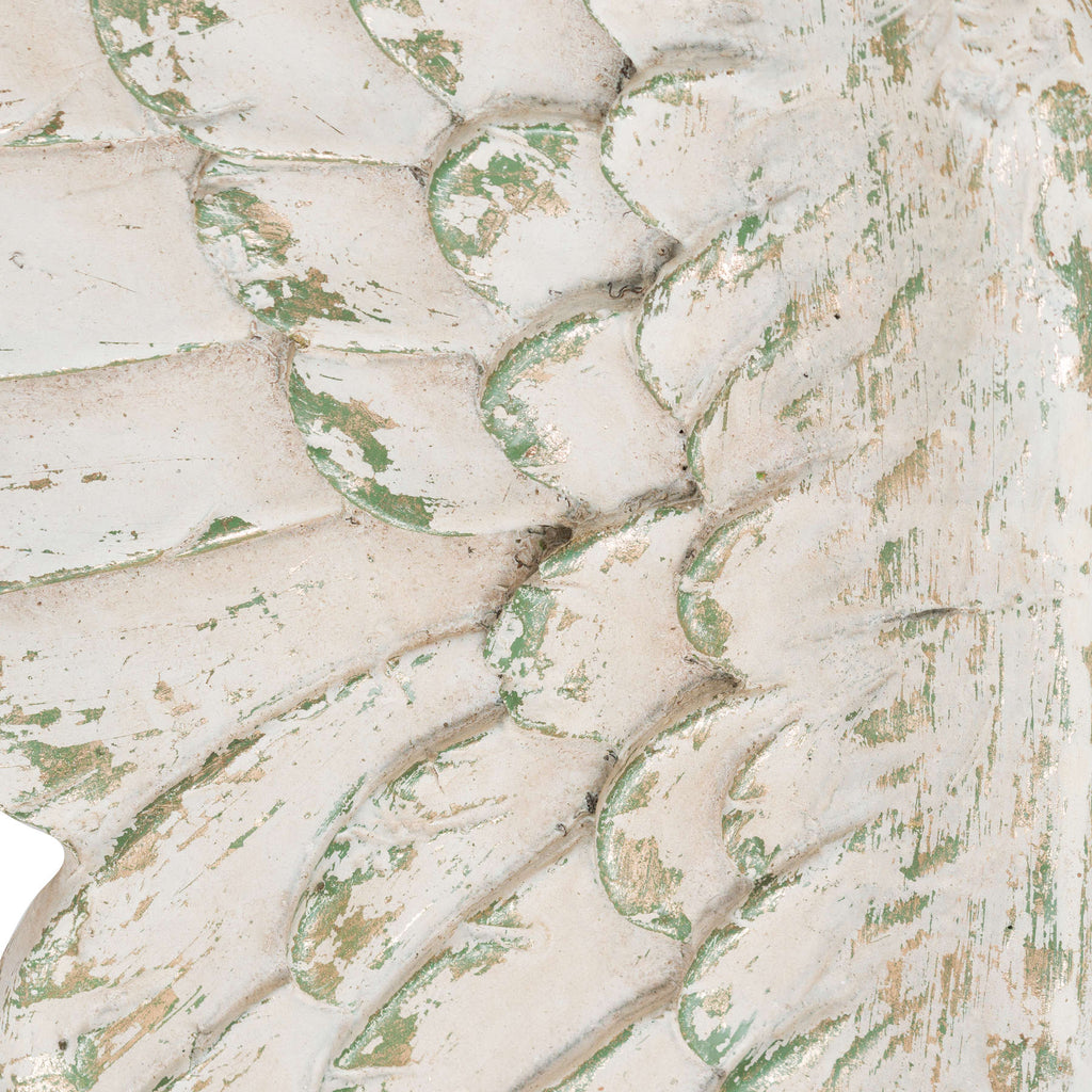 Distressed Cream Angel Wings - TBI