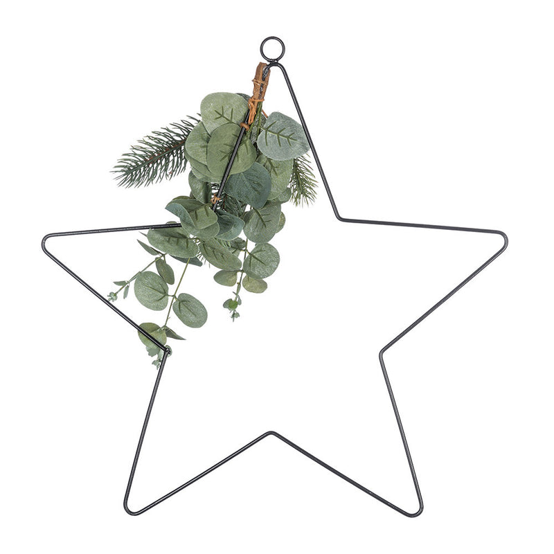 Large Star with Festive Foliage - TBI
