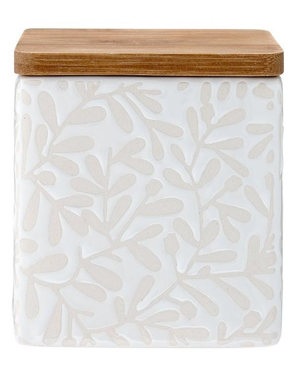 Ceramic Patterned Coffee Container | TBI