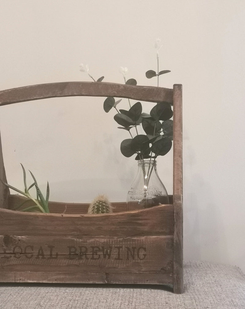 Farmhouse Bottle Crate - TBI