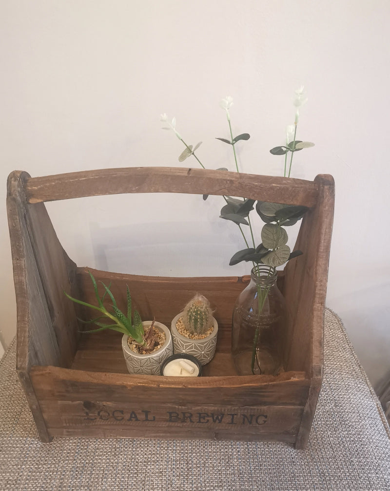 Wooden Bottle Crate - TBI