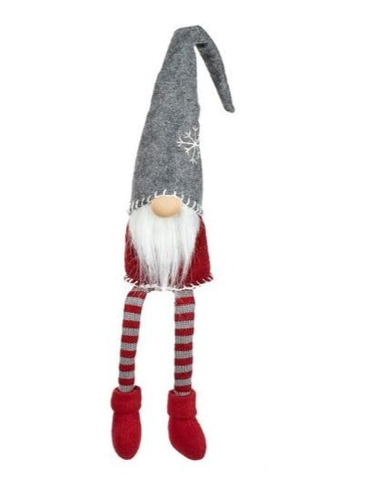 Long Legged Grey Santa Gonk - TBI